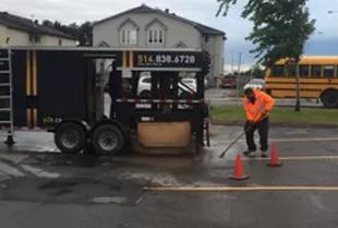 Comment faire un pavage d'asphalte sur son entrée de garage?