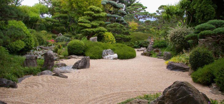 Effectuer des travaux d'élagage pour sculpter un jardin zen