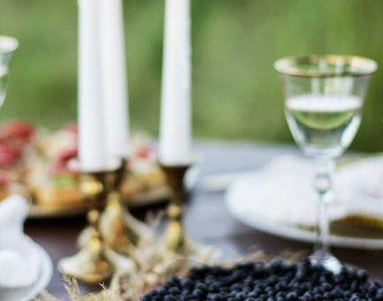 9 centres de table féeriques avec des bougies